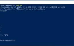 在 Windows 10 上安装使用 Python(初学者)