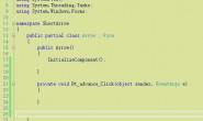 求帮助C# form,怎么在窗体按钮单击一下传一个数组进Main里面