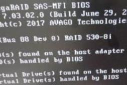 联想服务器ThinkSystem SR550 Raid配置磁盘状态UBad重建