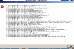 C# Winform异常:Error creating window handle 调查解决方法