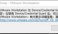 Win10 VMware Workstation 与 Device/Credential Guard 不兼容