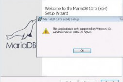 mariadb-10.5.4-winx64.msi 不支持Windows 7 安装