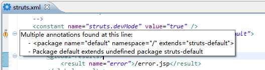 struts2 在MyEclipse中的配置问题
