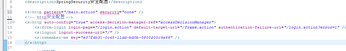 SpringSecurity安全配置