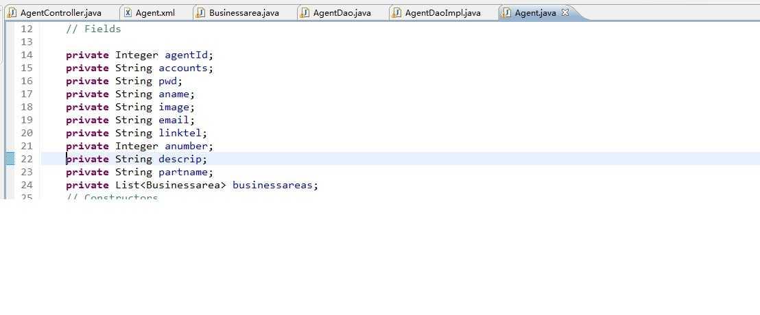 Mybatis+SpringMVC 封装实体时java.lang.NoSuchMethodException