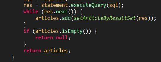 使用mysql能查询结果,executeQuery返回null