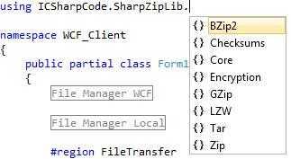 在SharpZipLib中应该选择哪一种压缩类型?
