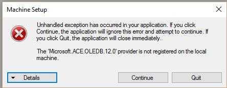 Microsoft.ACE.OLEDB.12.0 在应用时,编译.net应用程序的问题