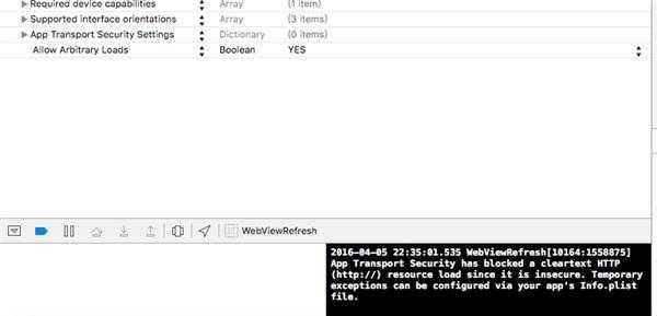 ios开发网页控件报错