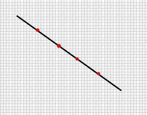 怎么获取某条直线中间的几个点的坐标