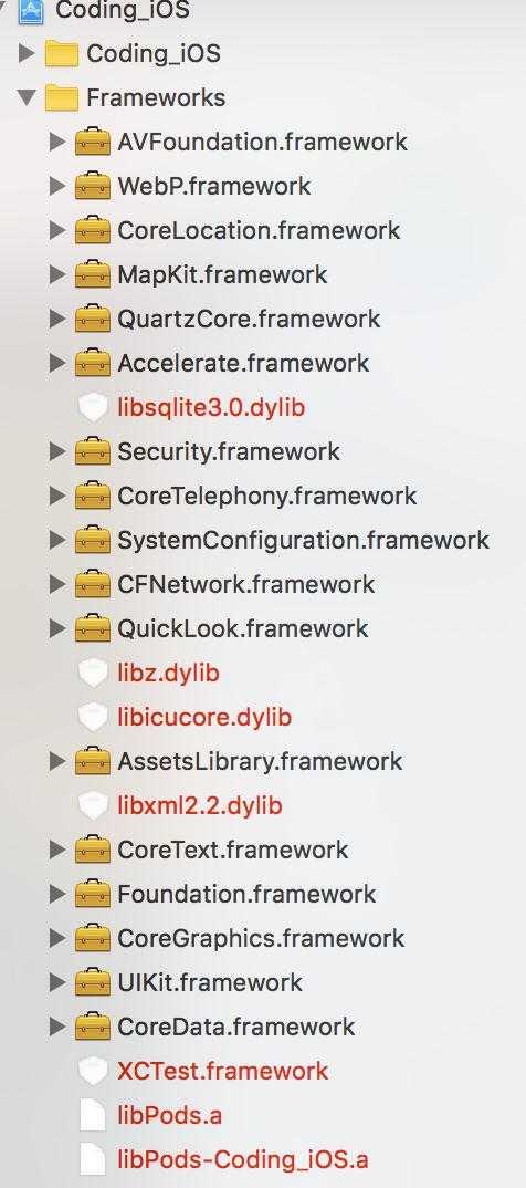 打开开源项目,许多文件是红色