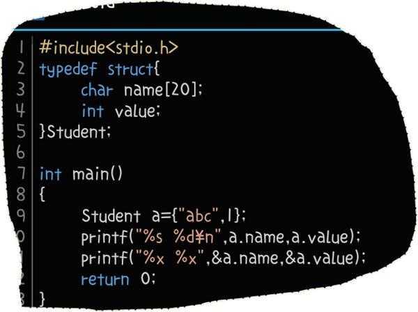 结构体变量名表示什么