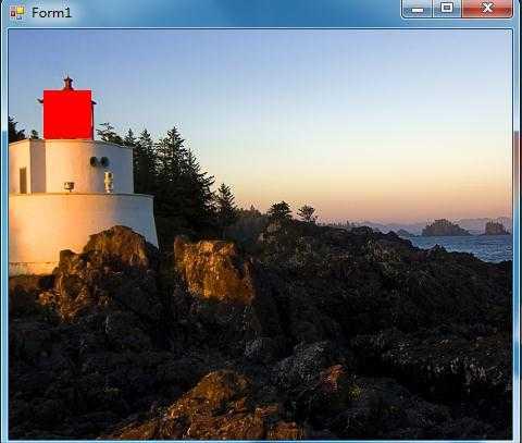 C# 在窗体背景图片上放置panel 遮挡 自适应变化