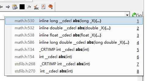 C/C++里的abs()和fabs()在VC6.0和VS2015中结果不一样