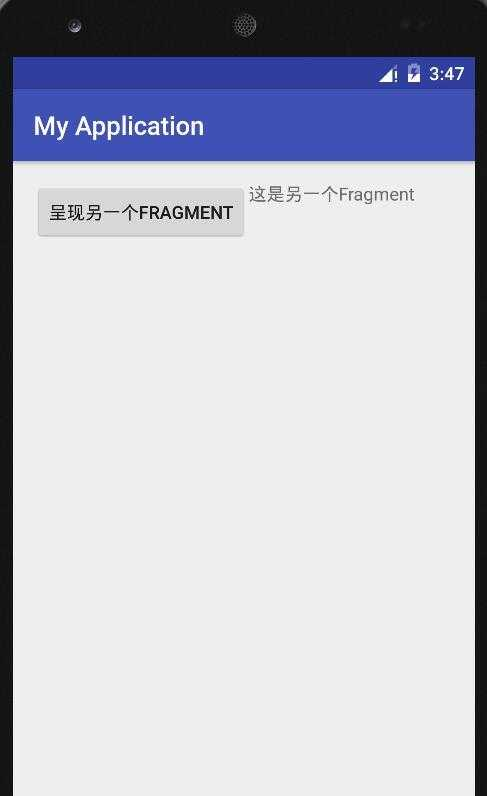 android 1.4 用创建Blank Activity ( use a fragment )建立两个fra