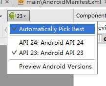 Android Studio 设计界面出错