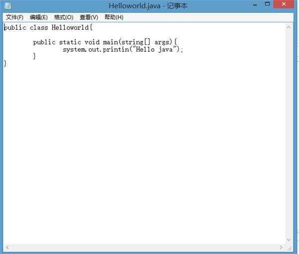学javaEE,win8.1系统,环境变量设置好了,为什么就是不能运行java程序