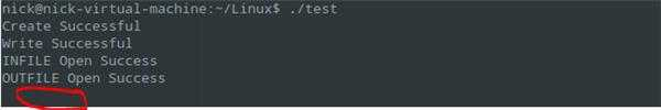 在Linux下通过read读文件出现的问题