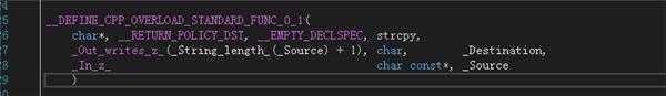 scanf和strcpy使用不安全?这个是怎么个意思?=_=