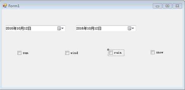 C#调用数据库查询(多条件可选择)