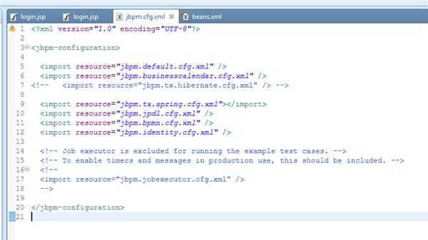 SSH项目整合JBPM4.4出现空指针异常